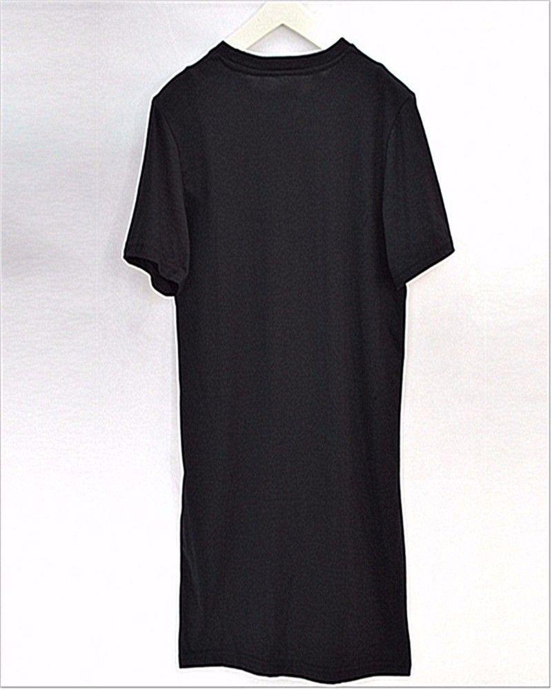 T-shirt long à manches longues pour hommes US de la taille des hommes en gros-hip hop t-shirt grand tshirt nouvelle arrivée mens top tee shirts livraison gratuite
