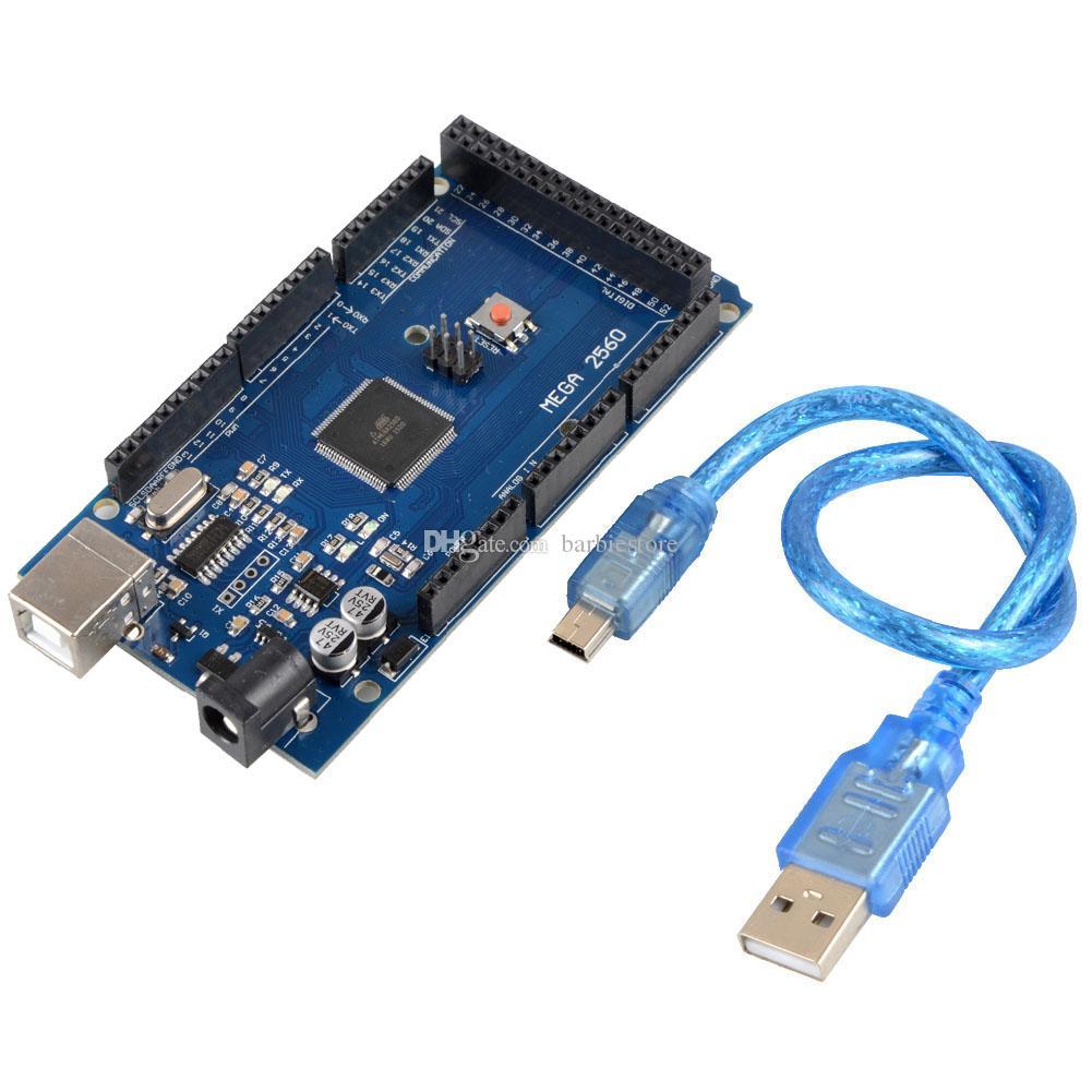 Pour Arduino ATMEGA2560-16AU CH340G MEGA 2560 R3 Board + Câble USB B00292