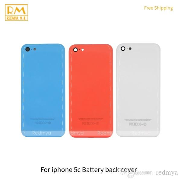 new arrival 64882 93d57 2019 For Iphone 5C Battery Door Cover Back Housing White Blue Orange Color  Replacement Full Back Cover Rear Case Parts From Redmya, &Price; | ...