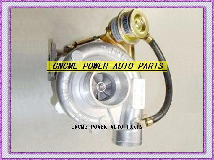Perakende TURBO Giriş flanş T25 Çıkış flanşı 5 cıvata su soğutmalı Turbo şarj Kompresör a / r. 42 Türbin a / r.49 Turboşarj