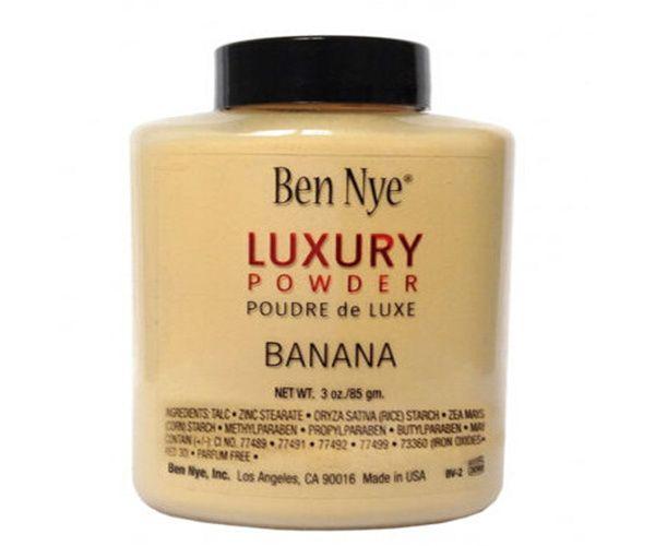 Dropshipping Marca de Venda Quente Ben Nye LUXO EM PÓ POUDER de LUXE Banana em pó solto 3 oz / 85 g DHL frete grátis