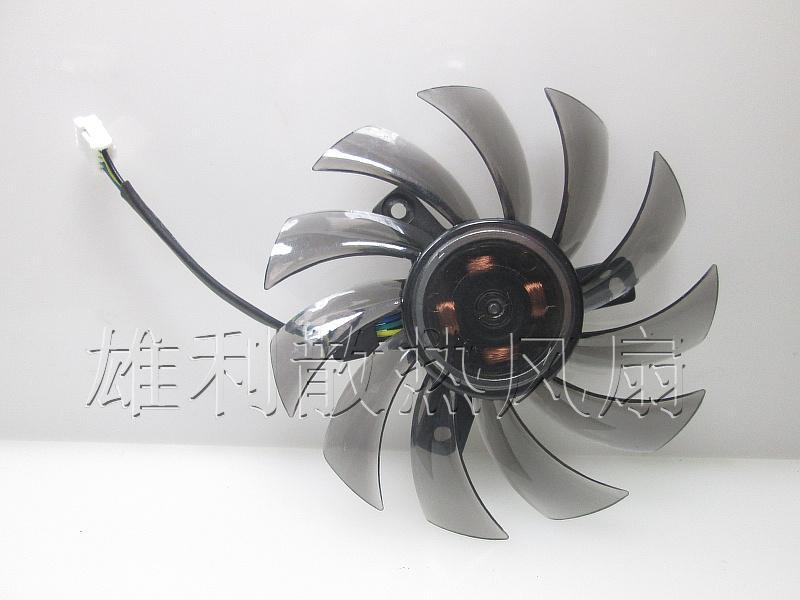 Ventilador de tarjeta gráfica original para Gigabyte GTX760 GTX680 GTX770 T128010SU 12V 0.35A