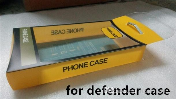 Wholesale Embalagem de Plástico Universal com Inserção Interna para iPhone 7 7 Plus Samsung nota 8 Híbrido Defender Casos de Telefone