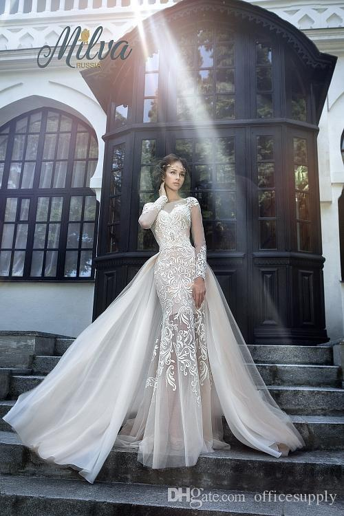 Sexy Wedding Gowns with Trains