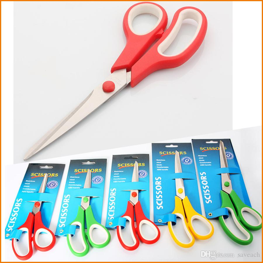 Mix Color Edelstahl-Büroschere - 7,5 / 8 / 8,5 / 9,5 / 10,5-Zoll-Mehrzweckschere zum Schneiden von Papier, Stoff Mehr