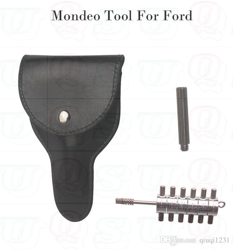 Spedizione gratuita 6 taglio tibbe decoder per ford mondeo e jaguar, ford Tibbe pick strumenti fabbro lock picks set apriporta serratura blocco urto chiave