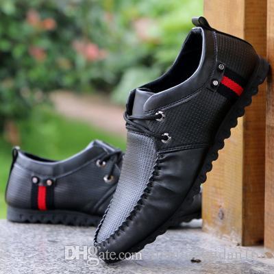 2016 горячая распродажа мужская повседневная кожа PU обувь мужская мода обувь 3 цвет размер: 39-44