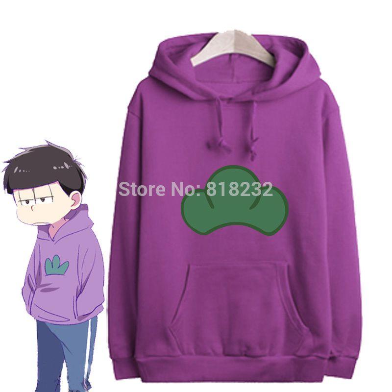 도매 - 오스하츠 샌 마츠노 itsu Hoody Hoodie 스웨터 코트 outwear 코스프레 의상 6 색 S-XXL