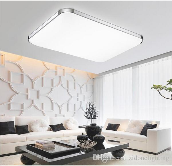 Plafonniers led modernes montés en surface chaude pour cuisine enfants chambre maison moderne led plafonnier lustres de teto