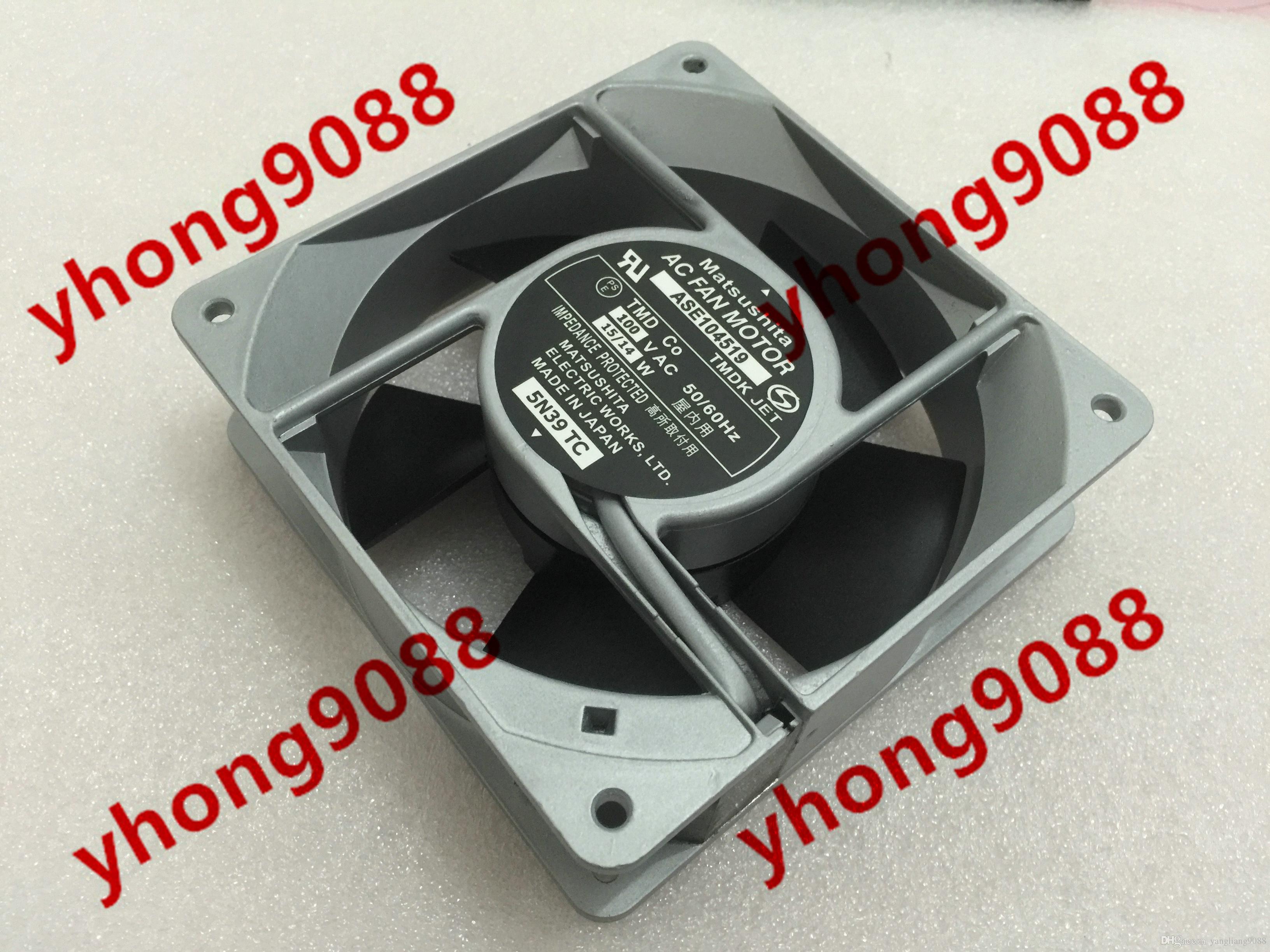 Spedizione gratuita ASE104519 AC 100V 15 / 14W 120x120x38mm Server Square Ventola di raffreddamento