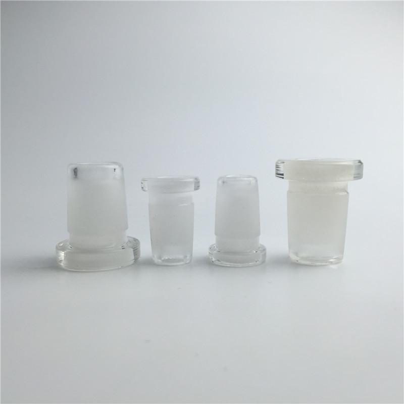10 мм женский до 14 мм мужской стеклянный адаптер конвертер толщиной форстед рот пирекса стекло водопроводные трубы мини-бонг адаптер для курения