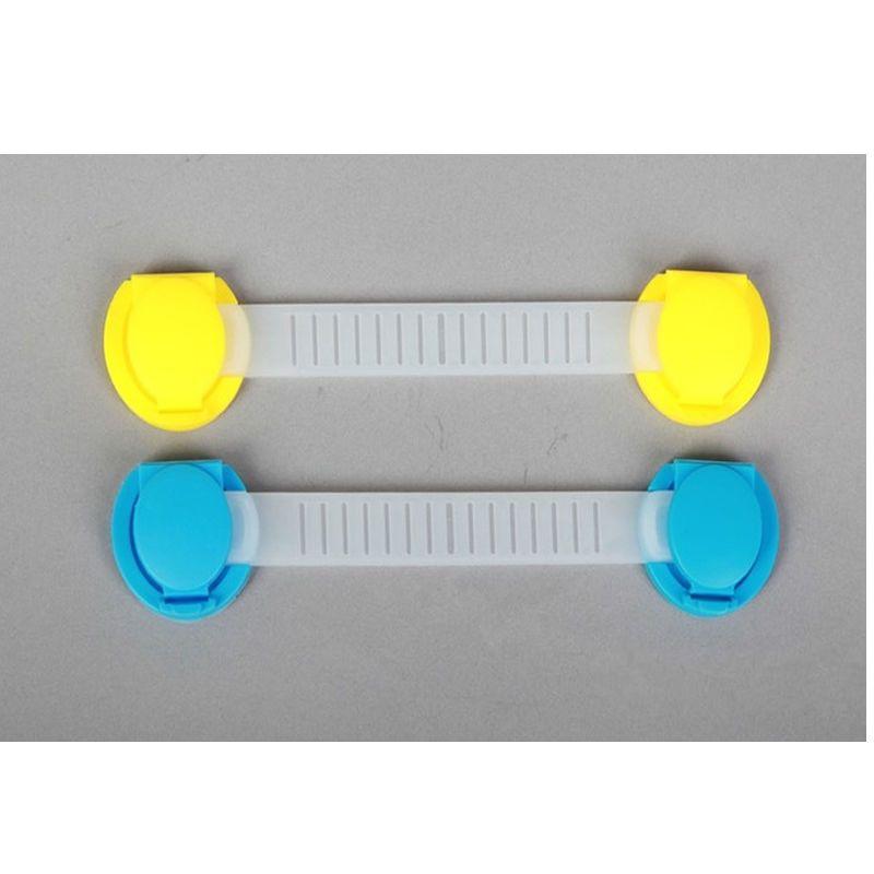 Practical Toddler Baby Kids Drawer Protect Safe Cupboard Cabinet Door Lock 4PCS #T701