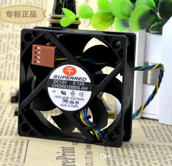 Originale SUPERIORE CHD6012BBS-AH 12V 0.12A 6CM 60 * 60 * 20 a quattro fili PWM controllo della temperatura CPU fan