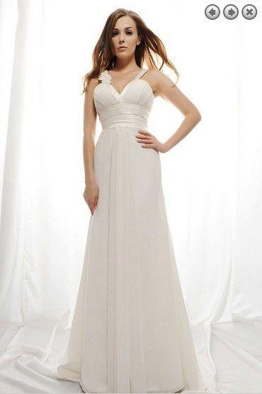 free shipping ivory white chiffon Evening Dresses robe de soiree longue 2017 handmade flower prom sweetheart Evening Gowns Celebrity dress