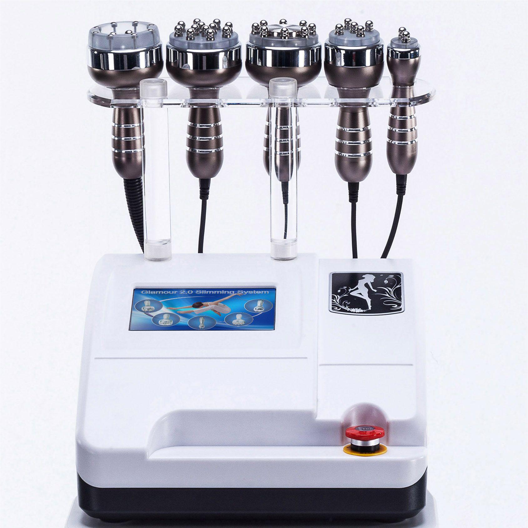 Alta calidad 40K ultrasónico cavitación al vacío equipo de radiofrecuencia lipólisis forma del cuerpo piel reafirmante de la belleza que adelgaza la máquina