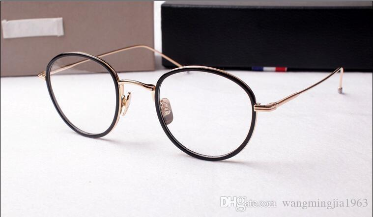 Novos Óculos De Sol Quadros TB-905 frame da prancha óculos de armação restaurar antigas formas oculos de grau homens e mulheres miopia armações de óculos