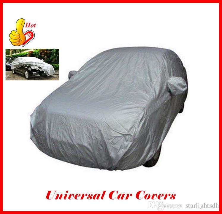 XL Full Car Cover Heat UV Protection Waterproof Outdoor Dustproof Hot UK