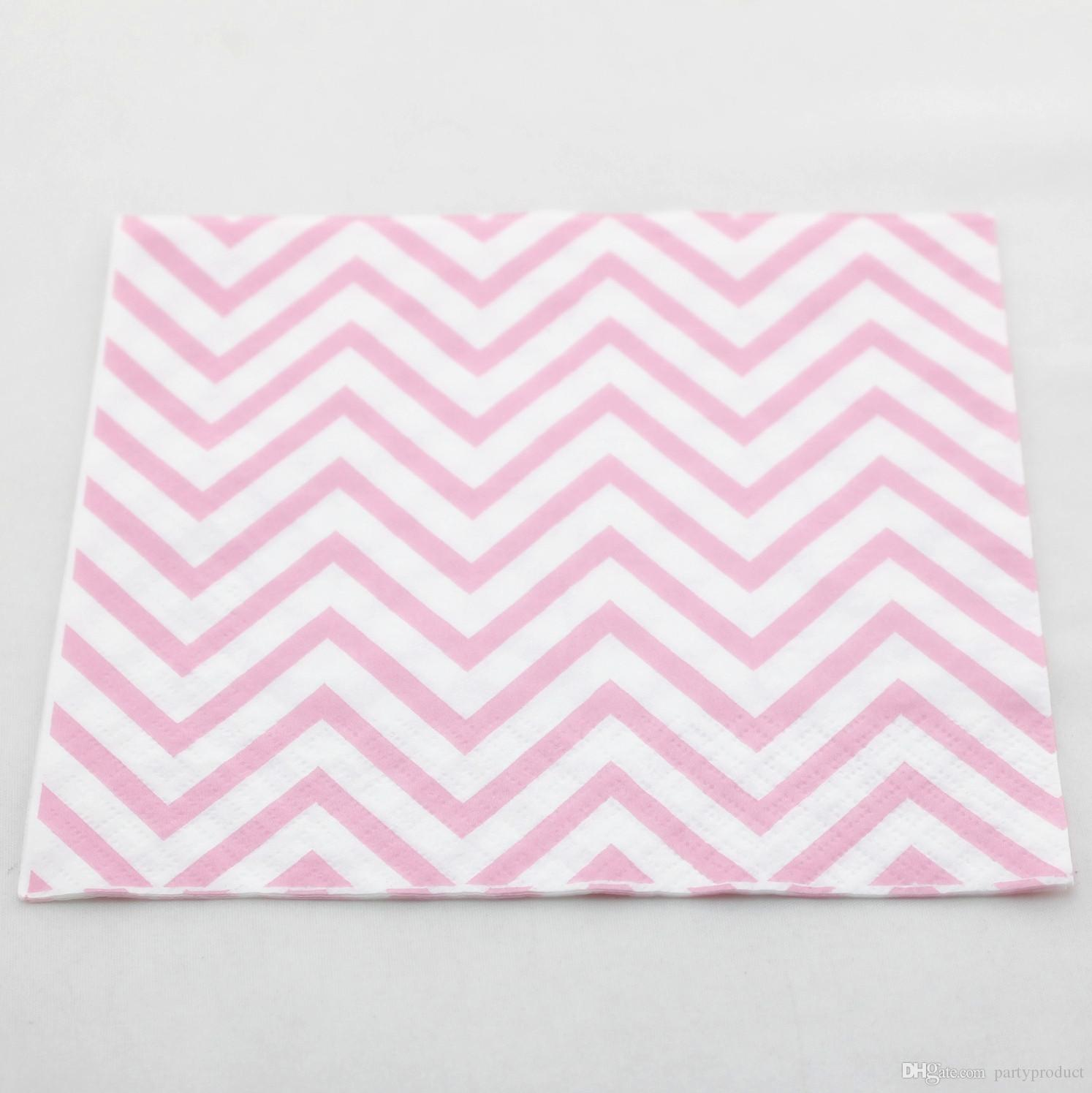 Free shipping!!! 400pcs Wedding decoration paper napkin baby pink disposable paper napkin for Baby shower/ Christmas