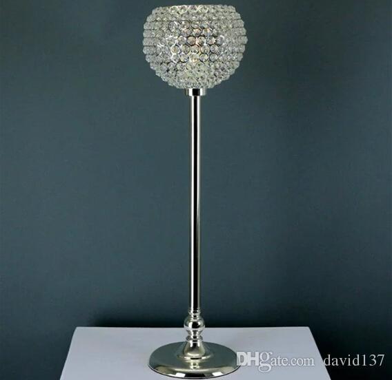 Glass Crystal Votive Candle Holder, Wedding Centerpiece & Home Decoration