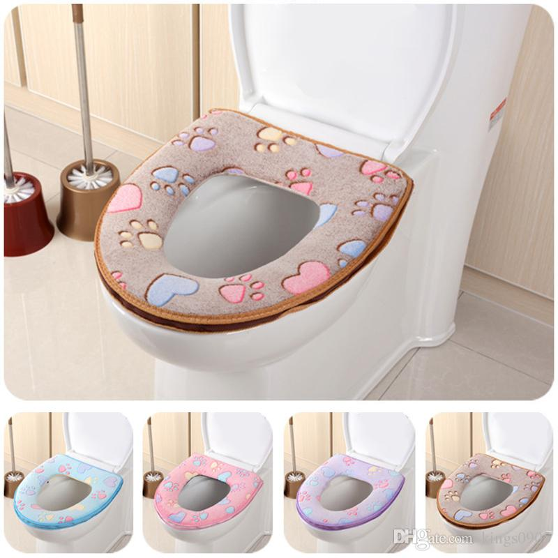 O Type  Toilet Seat Cover  Universal  Washable  Soft  Toilet seat cushion