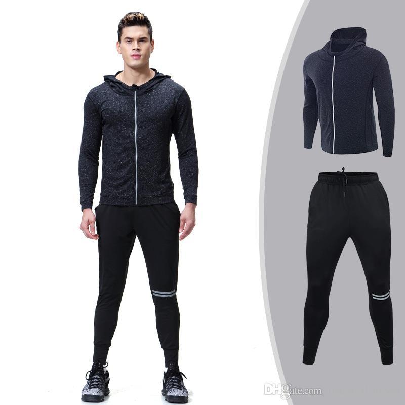 Hommes Jogging Costume Jogging Pantalon Veste Sport Costume Fitness Shakur 96 Nouveau a.2068