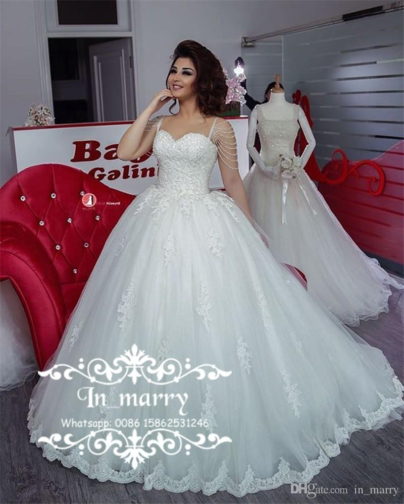 Exquisite African Arabic Ball Gown Wedding Dresses 2017 Sweetheart ...