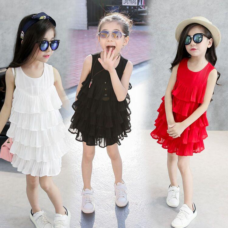 Stylish dress of girl