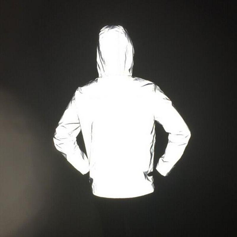 남성 로고가없는 캐주얼 힙합 코트 코트 재킷 및 코트 3m 반사 재킷 스포츠 야외 스포츠 용 재킷 남성 mommauhomme