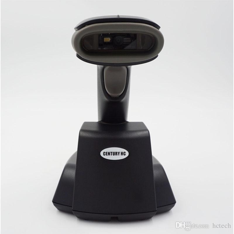 BSWNL-6003/6023/6083 433MHZ sem fio 1D ou 2D varredor do código de barras com a bateria da longa vida do berço