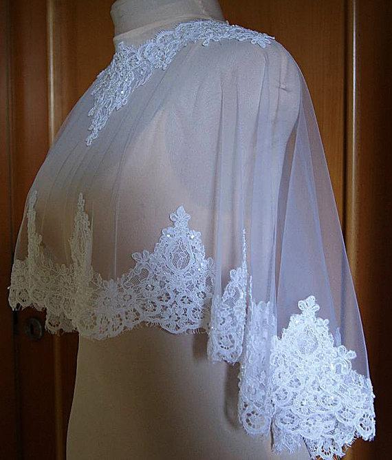 Melhor Venda 2018 Bridal Wraps Lantejoulas Applique Nupcial Do Laço Jaquetas de Renda Capas De Casamento Wraps Bolero Jaqueta De Vestido De Casamento Wraps Plus Size
