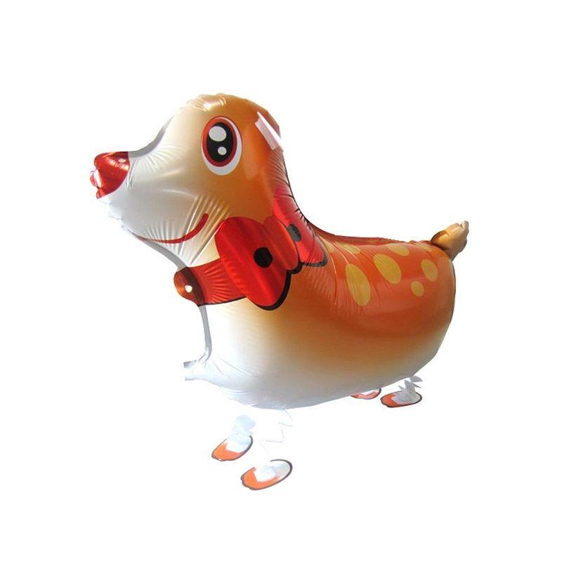 어린이를위한 동물 풍선 장난감을 걷고 생일 파티 장식 개 / 말 / 팬더 호 일 풍선 클래식 장난감 ZA1242