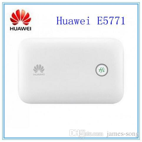 Original Unlocked 300Mbps HUAWEI E5771 4G LTE WiFi Router With Sim Card Slot And 9600mAh Power Bank Huawei E5771h-937