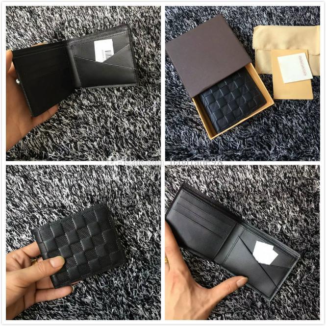 العلامة التجارية سارة المحفظة Empreinte النساء جلد البقر الحقيقي قصيرة مخلب النقش كوريوس محافظ CX # 207 محفظة حامل البطاقة 60895 مع صندوق حقائب