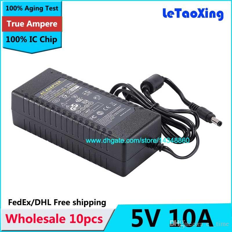 10pcs con il trasformatore LED del caricatore 50W dell'adattatore di CC dell'alimentazione elettrica di CA di CA del chip di CC 50W per la macchina fotografica del CCTV della luce di striscia del LED Trasporto libero