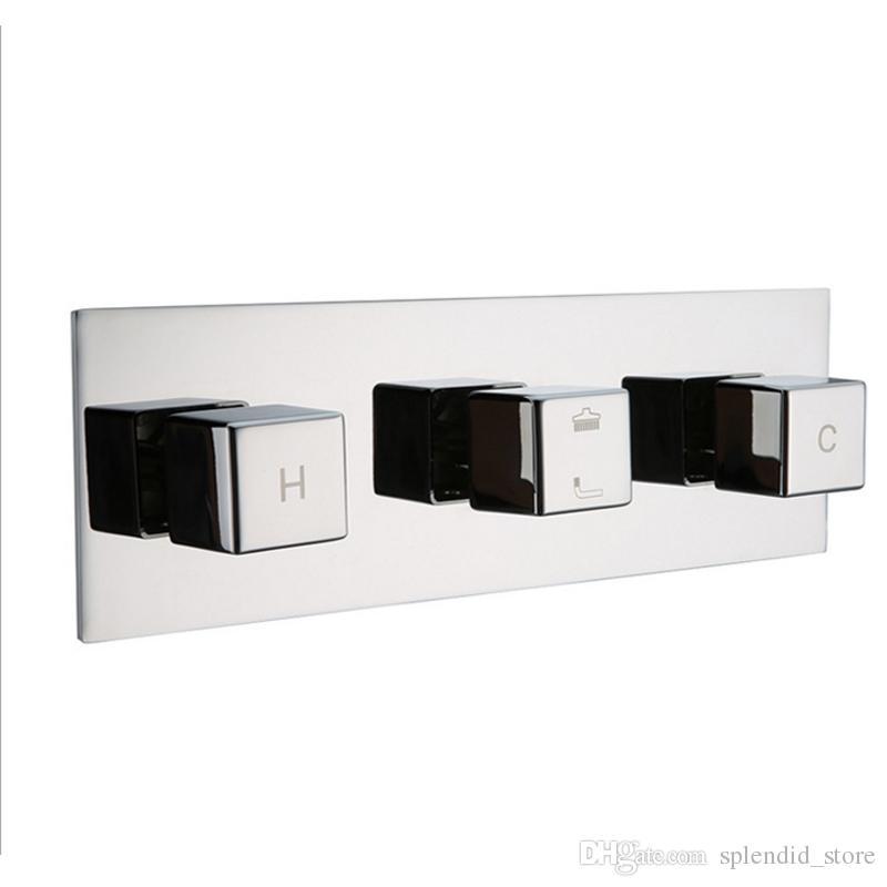 새 욕실 황동 숨겨진 샤워 믹서 / 2 웨이 샤워 Diverter 밸브 / 샤워 액세서리