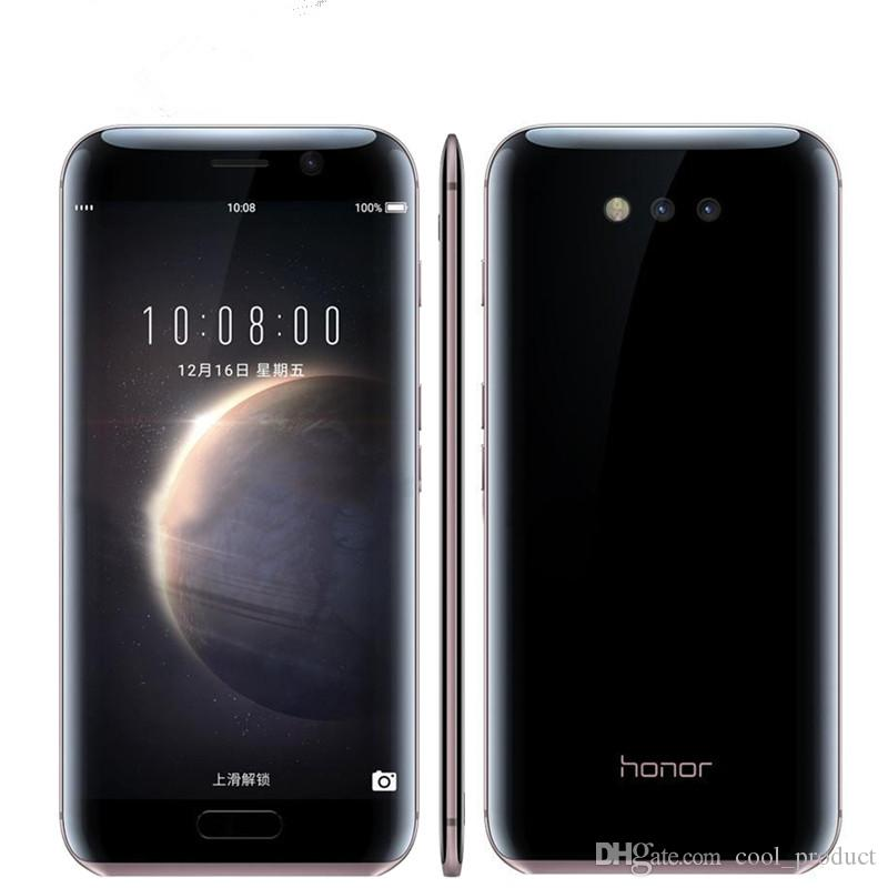 "Original Huawei Honor Magic 4G LTE Mobile Phone 4GB RAM 64GB ROM Kirin 950 Octa Core Android 5.09"" 2K Screen Eight Curved Surface Cell Phone"
