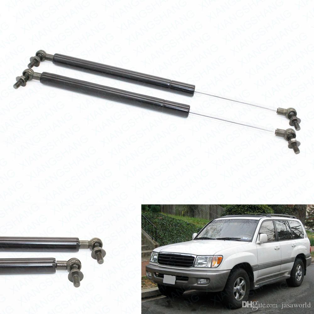 2pcs Auto Bonnet Hood Molle a gas Shock Struts Sollevare Supporti per Toyota Landcruiser 100 per Lexus LX470 1998-2003 2004 2005 2006 2007