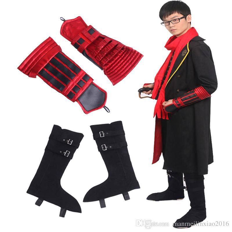 The Sword Dance Touken Ranbu Online cosplay Kashuu Kiyomitsu Boots Shoes UK