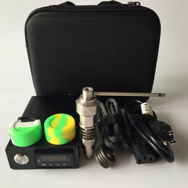 Brandneues Upgrade-D-Nagel-Kit mit GR2 Titan / Quarz Hybrid-Nagel für flache 10mm / 16mm / 20mm Heizspiralen