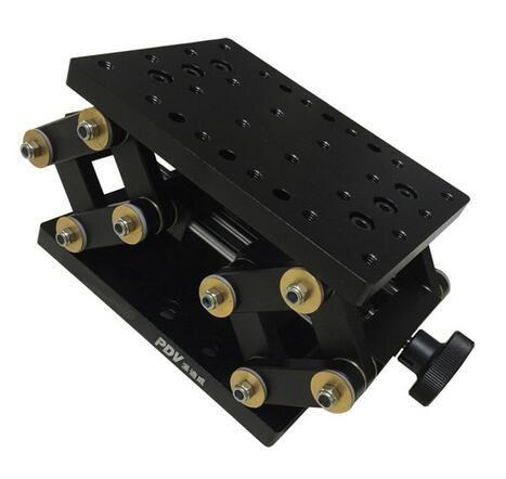 PT-SD1711M 정밀 수동 리프트, Z 축 수동 랩 잭, 수직 이동 스테이지, 엘리베이터, 광학 슬라이딩 리프트, 55mm 이동
