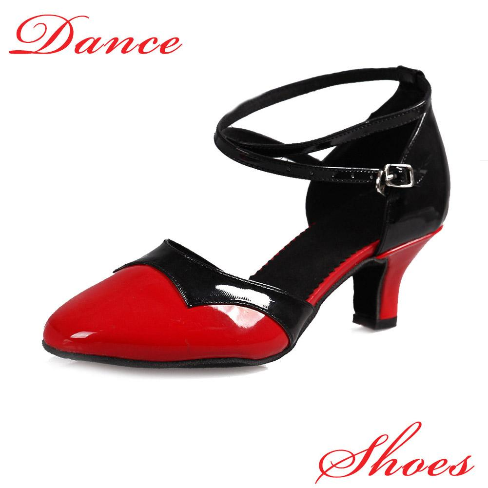 New arrival hot sale heel ballroom tango latin dance shoes for women dancing high-heeled adult soft outsole