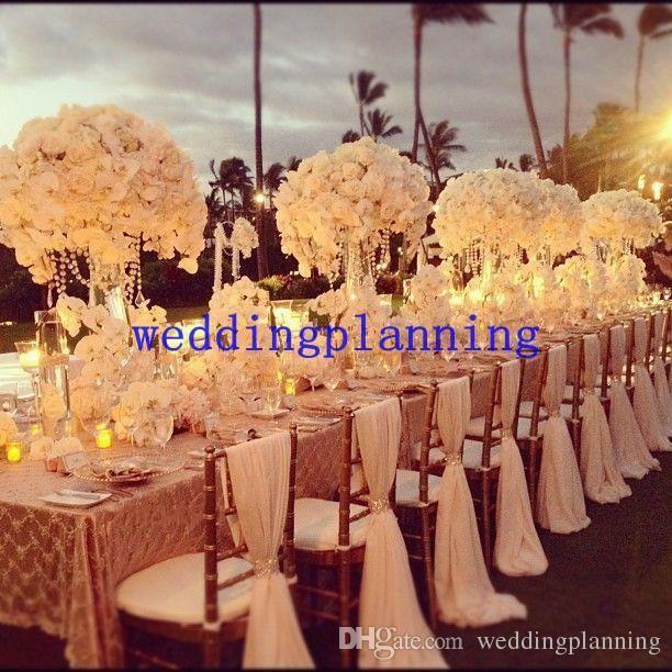 2019 2016 New Designer 6chair Sashes Wedding Accessory Cheap Wedding Supplies Wedding Decoration Ruffles Chiffon Chair Covers From Weddingplanning
