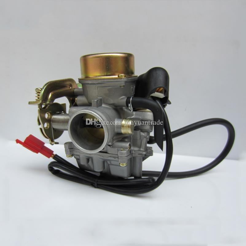 PD24 Carburetor Carb for Chinese GY6 125 150cc Scooter ATV Kazuma Kymco Taotao SunL Tank