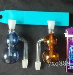 Оптовая стеклянные кальян аксессуары, стеклянные бонг аксессуары, цветные тыквы подключите горшок, бесплатная доставка, большой лучше