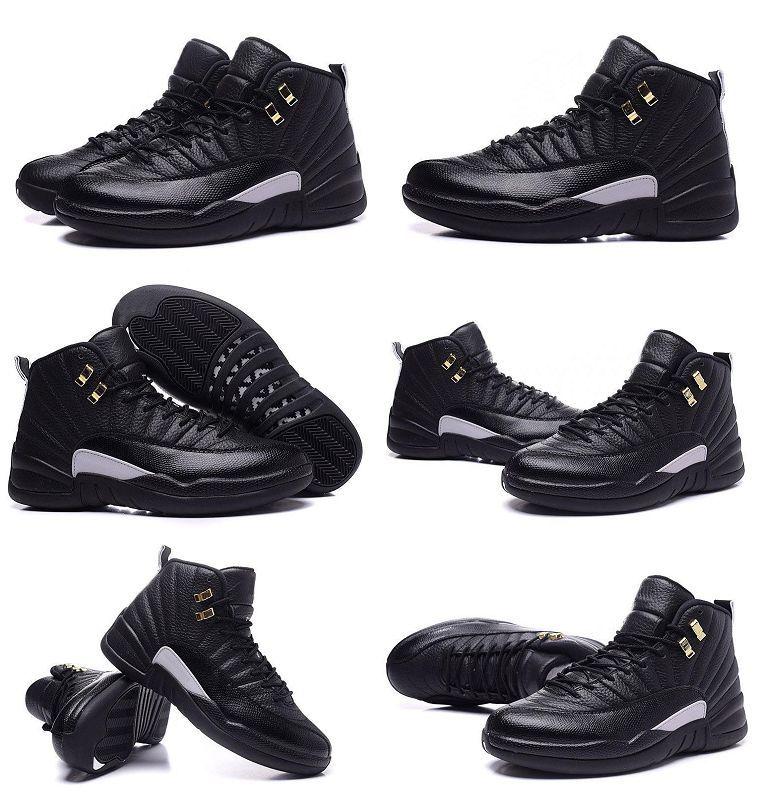 Gratis verzending A12 Lederen Waterdichte Sport Basketbal Schoenen Hot Selling Topkwaliteit Fabriek Outlet Heren 12 Master Basketball Boot