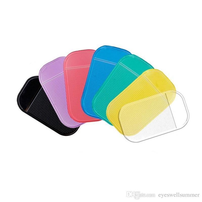200pc / серия Мощный Силикагель Магия Sticky Pad Anti-Slip Non Slip Мат для телефона PDA mp3 mp4