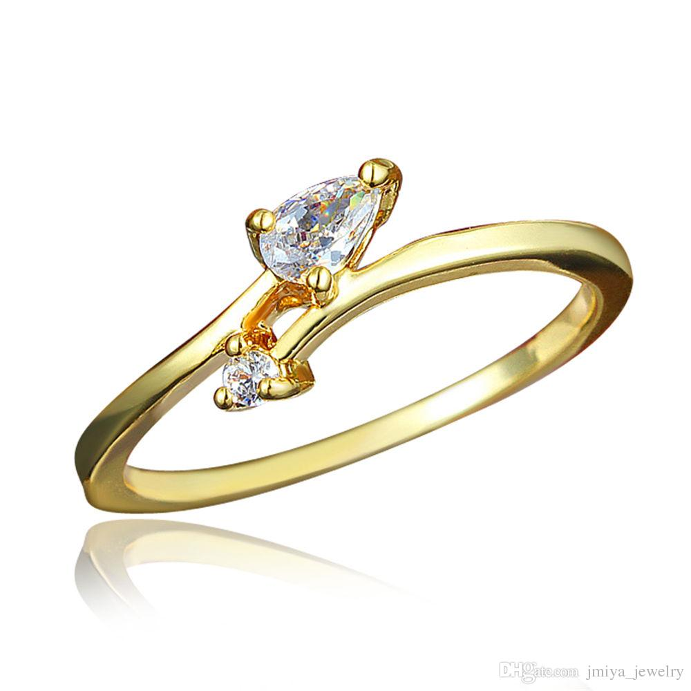 Simple Design Gold Plating Finger Ring for girl 2018 from ...