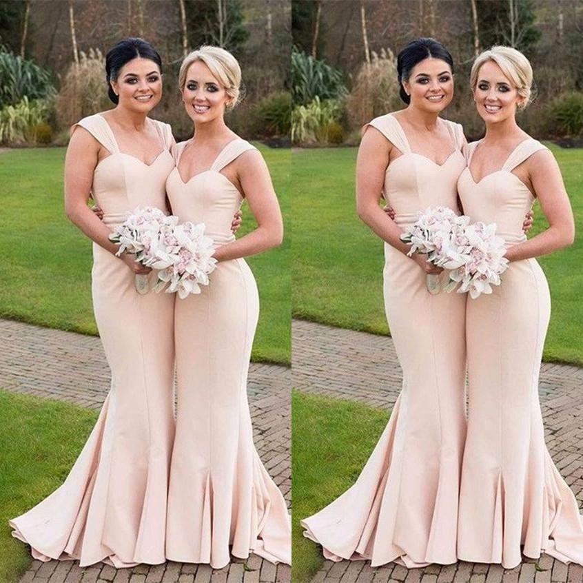 Champagne Bridesmaid Dress