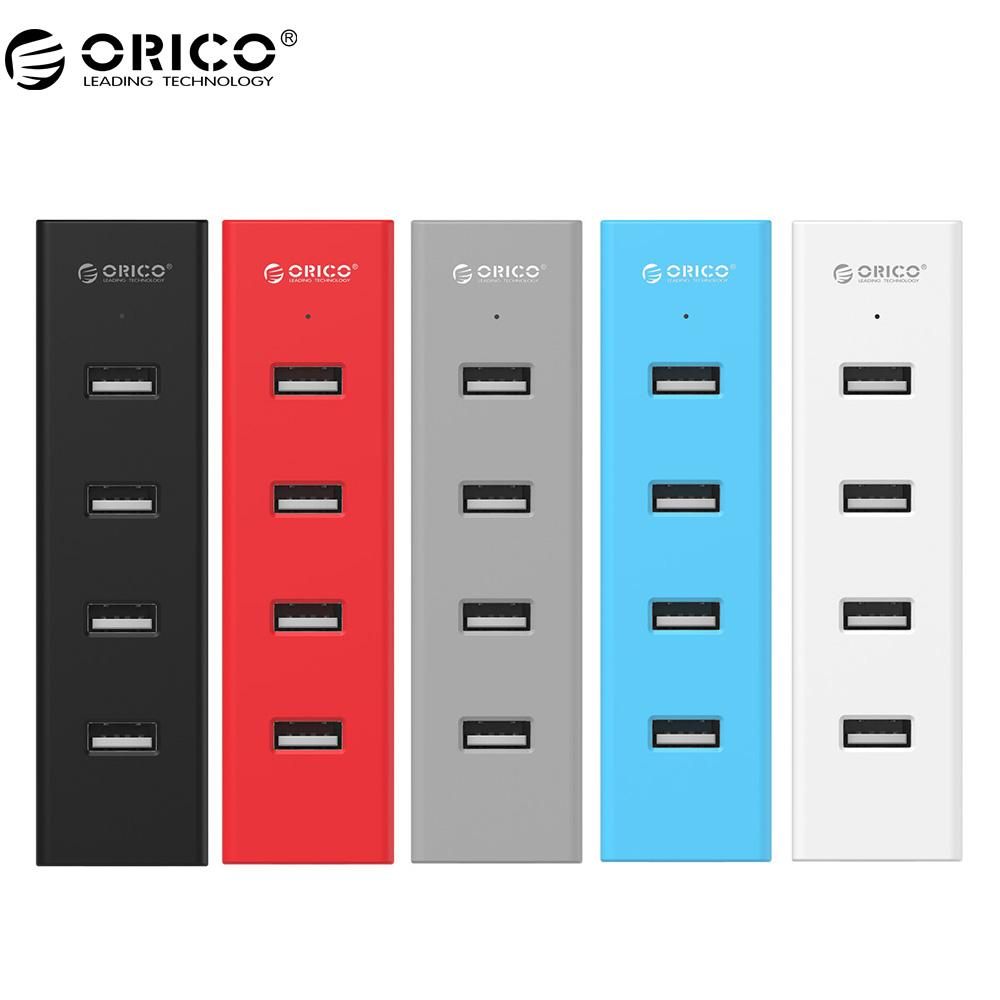 2020 Dhgate H4013 U2 High Speed Usb 2 0 Hub 4 Ports Usb Portable With 30cm Data Cable Power Adapter Port Black Gray Blue Red From C1231234 7 13 Dhgate Com