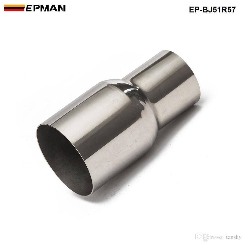 3/'/' to 2.5/'/' Stainless Steel Standard Turbo Exhaust Reducer Connector Pipe Tube